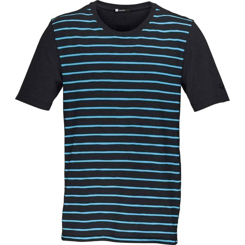 Norrøna /29 cotton T-Shirt (M) M PHANTOM/CARIBBEAN BLUE