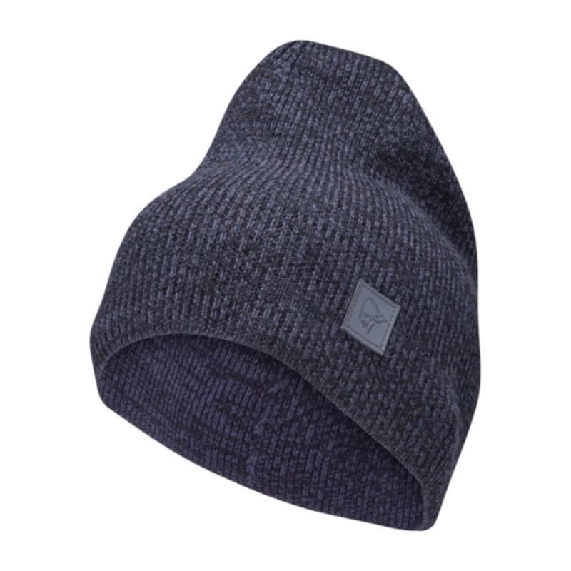 Norrøna /29 thin marl knit Beanie ONE SIZE Cool Black