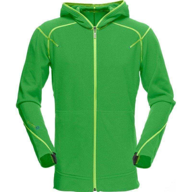 Norrøna /29 warm1 Zip Hood M XXL Green Mamba