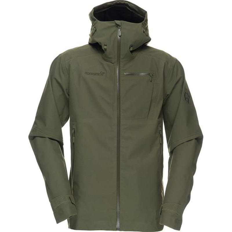 Norrøna Dovre Dri3 Jacket Men's/Women's XXL Light Green