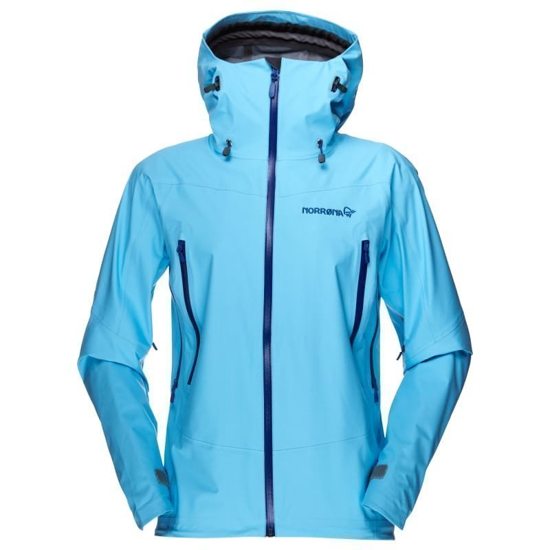 Norrøna Falketind Gore-Tex Jacket Women's S Ice Blue