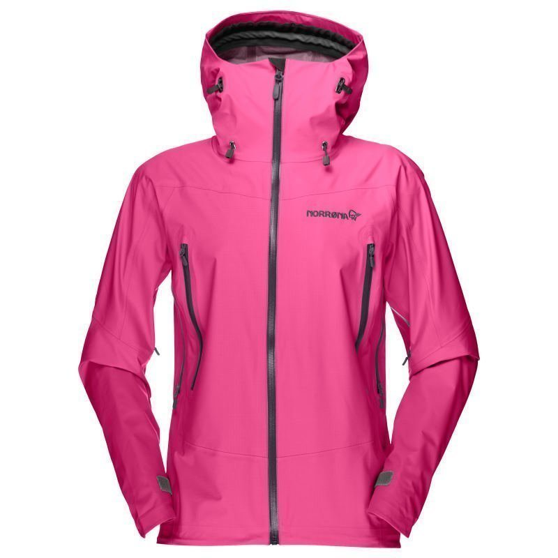 Norrøna Falketind Gore-Tex Jacket Women's XL Grafitti Pink