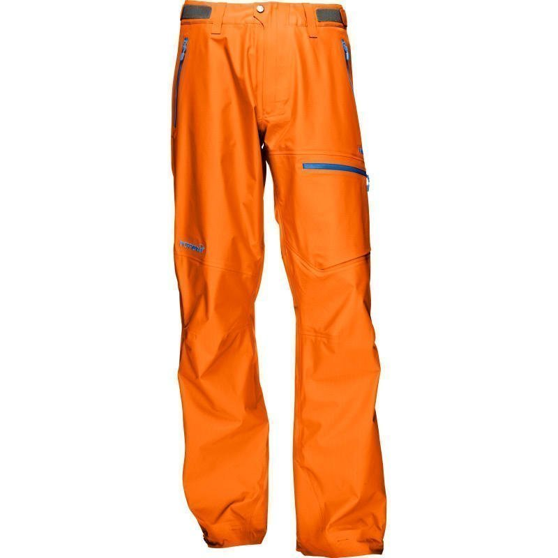 Norrøna Falketind Gore-Tex Pants Men's XL Pure Orange