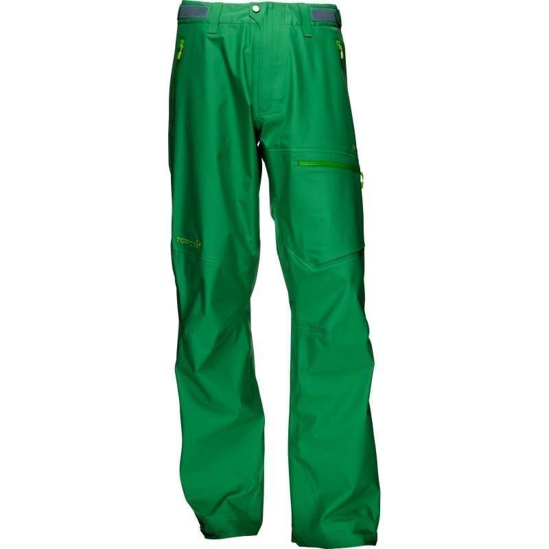 Norrøna Falketind Gore-Tex Pants Men's XXL Chrome Green