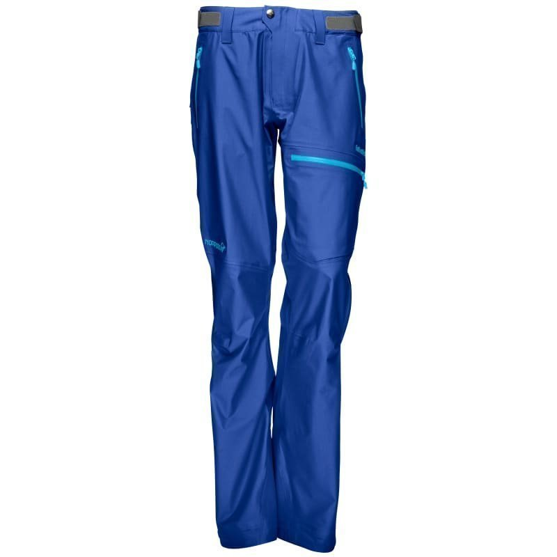 Norrøna Falketind Gore-Tex Pants Women's L Ionic Blue
