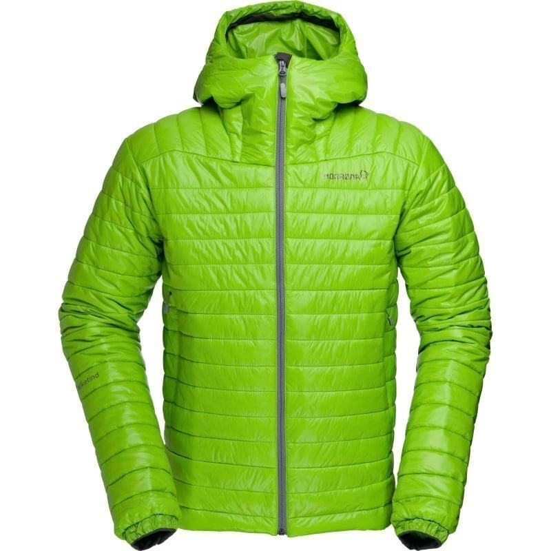 Norrøna Falketind PrimaLoft100 Hood Jacket Men's L Bamboo Green