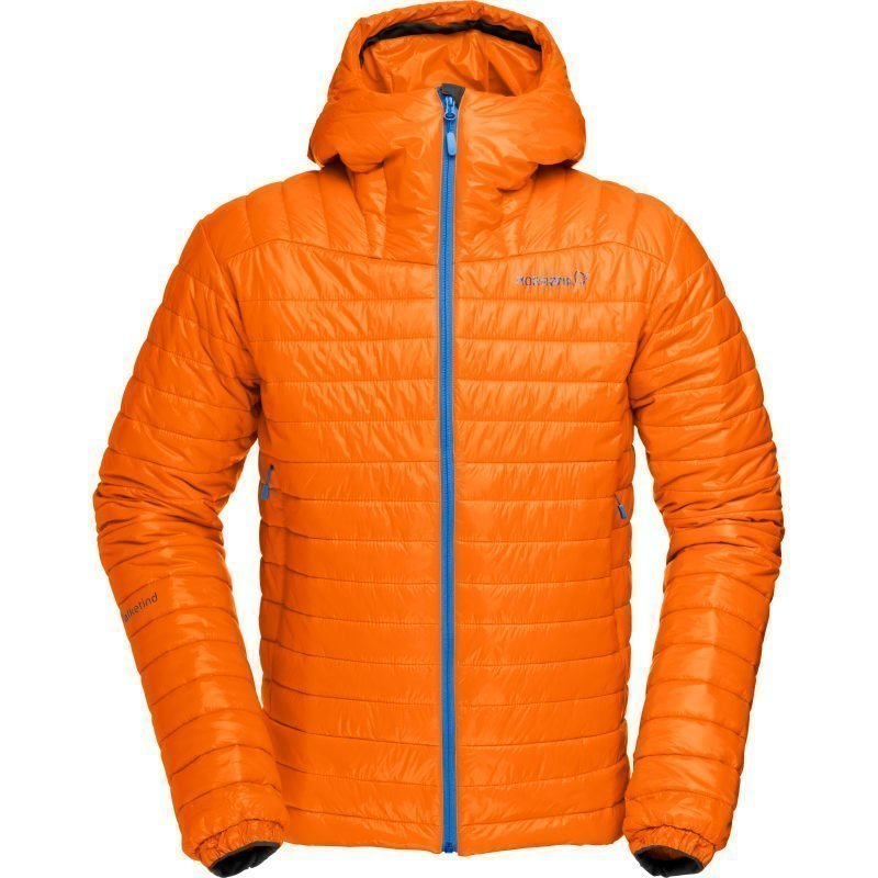 Norrøna Falketind PrimaLoft100 Hood Jacket Men's S Pure Orange