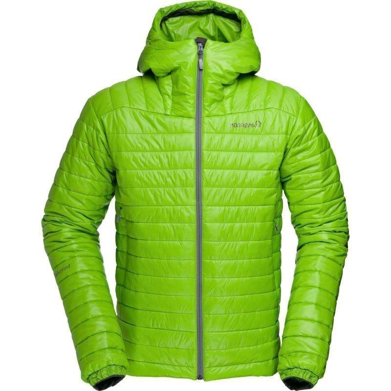 Norrøna Falketind PrimaLoft100 Hood Jacket Men's XL Bamboo Green