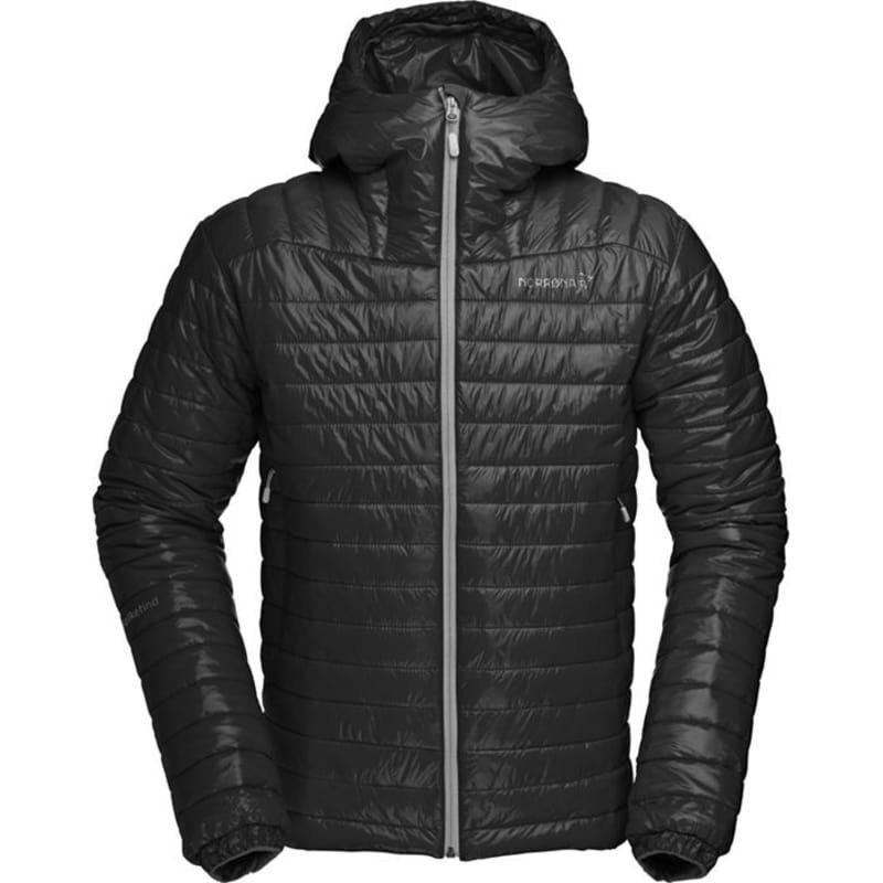 Norrøna Falketind PrimaLoft100 Hood Jacket Men's XL Caviar
