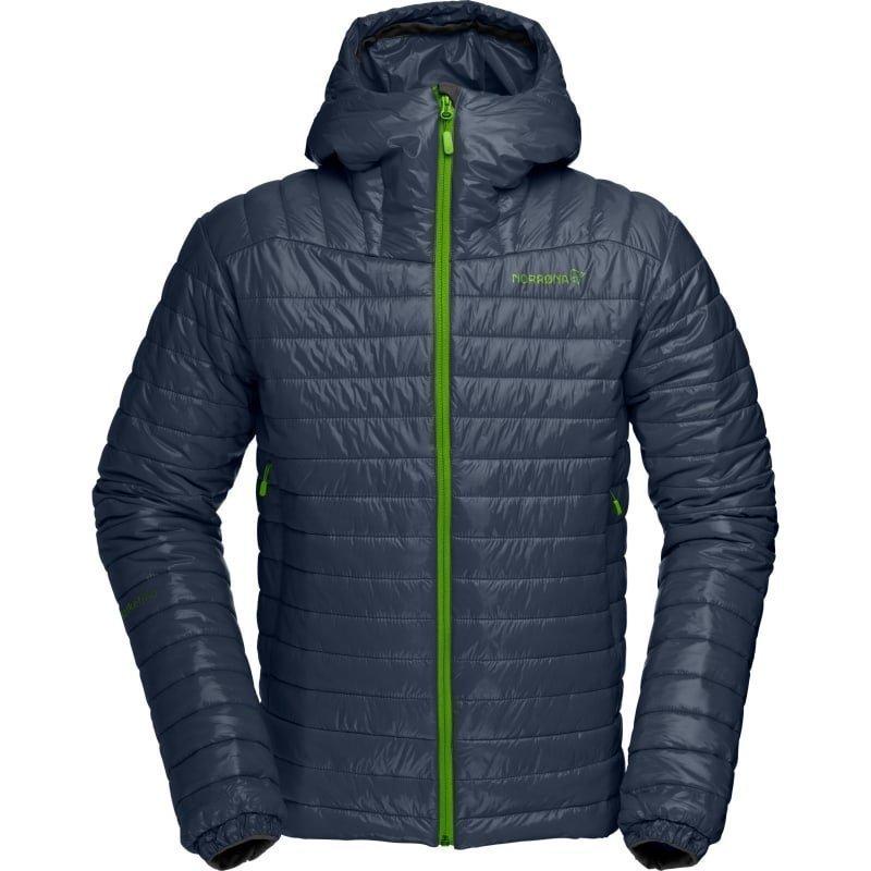 Norrøna Falketind PrimaLoft100 Hood Jacket Men's XXL Cool Black