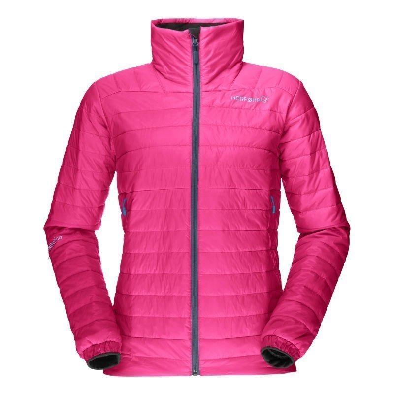 Norrøna Falketind Primaloft60 Jacket W L Grafitti Pink