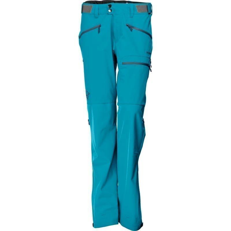 Norrøna Falketind Windstopper Hybrid Pants Women's S Iceberg Blue