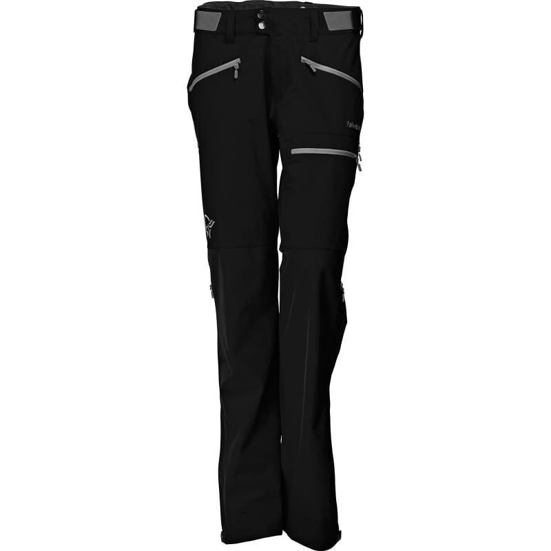 Norrøna Falketind Windstopper Hybrid Pants Women's XS Caviar