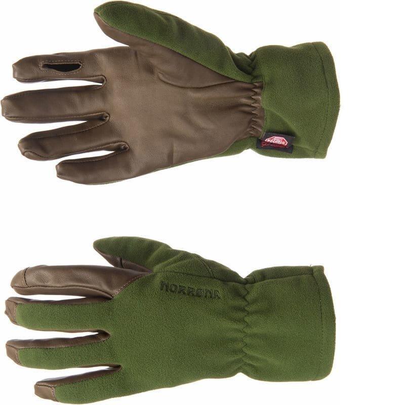 Norrøna Finnskogen Windstopper Gloves M Green