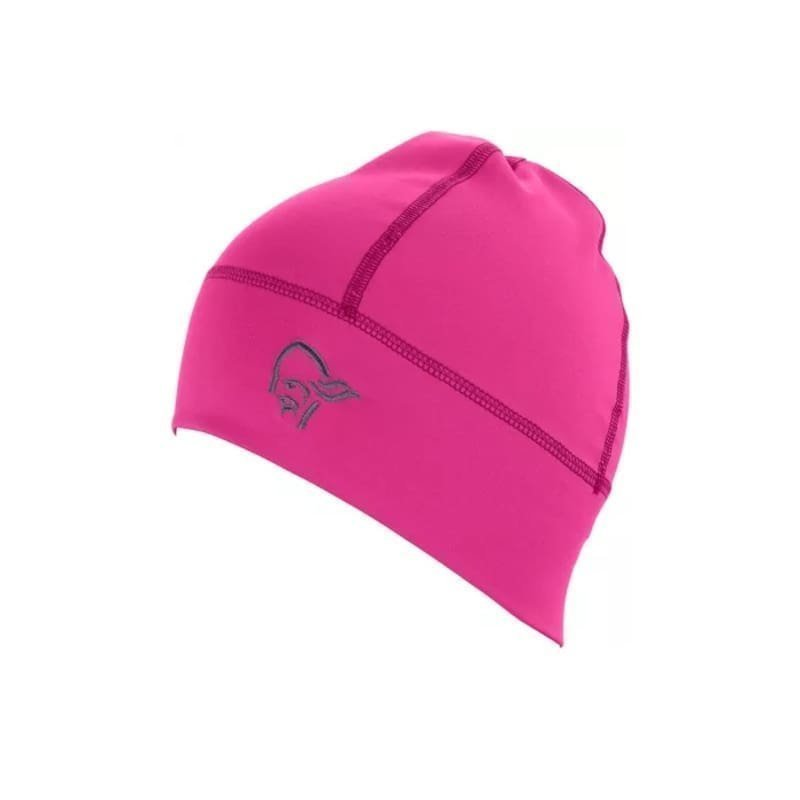 Norrøna falketind Lightweight Powerstretch Beanie 1SIZE Grafitti Pink