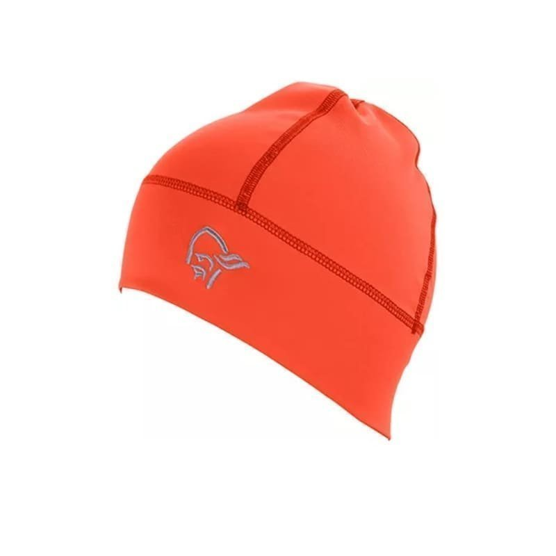 Norrøna falketind Lightweight Powerstretch Beanie 1SIZE Hot Chili