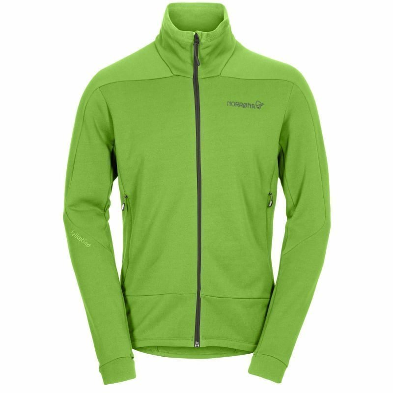 Norrøna falketind Power Stretch Jacket Men's M Bamboo Green