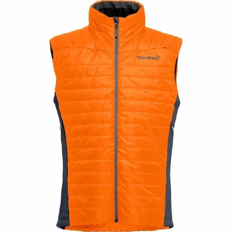 Norrøna falketind Primaloft100 Vest M S Pure Orange