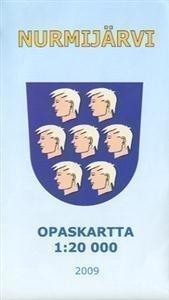 Nurmijärvi opaskartta 1:20 000 2009