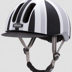 Nutcase Metroride Black Jack Matte pyöräilykypärä S-M (55-59cm)