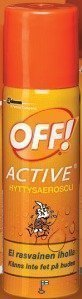 OFF! Active hyttysaerosoli 65 ml & 100 ml