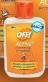 OFF! Active hyttysvoide 37 ml