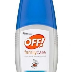 OFF! Family Care Aloe Vera hyttyssuihke 100 ml