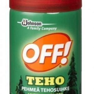 OFF Teho Pehmeä tehosuihke 100ml