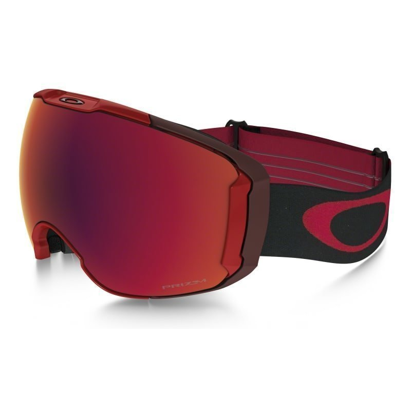 Oakley Airbrake XL 1SIZE Obsessive Lines Red/Prizm Snow