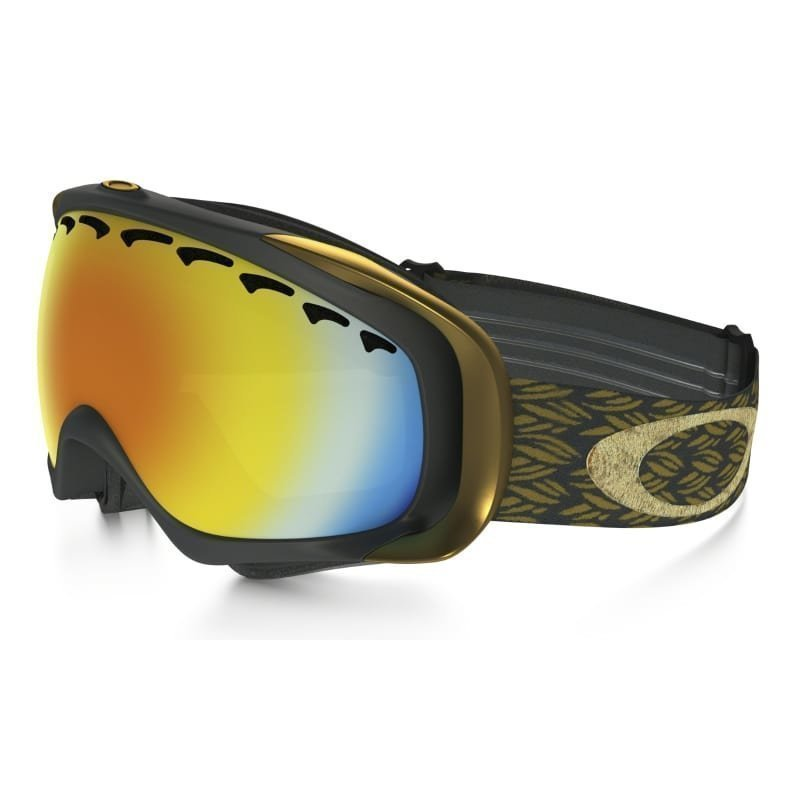 Oakley Crowbar Engine Room Snow Goggle 1SIZE Mimic Knit Burnished/Fire