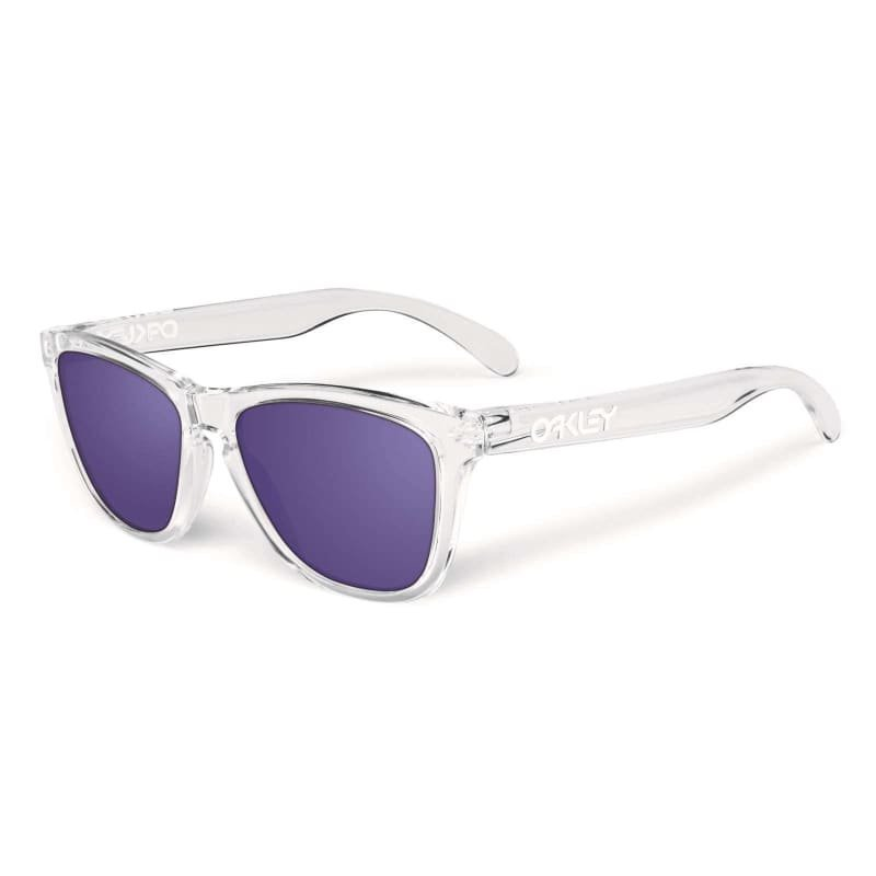 Oakley Frogskins 24-305 1SIZE POLISHED CLEAR/VIOLET IRIDIUM