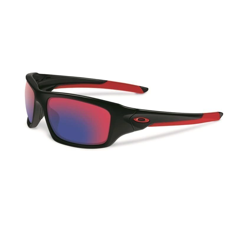 Oakley Valve 9236-02 POLISHED BLACK W/ + RED IRIDIU