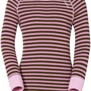 Odlo Kids Warm Shirt Pinkki/vihreä 140