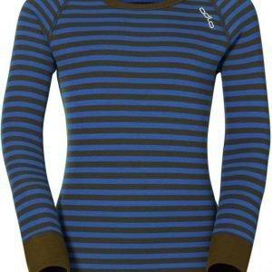 Odlo Kids Warm Shirt Sininen/vihreä 140