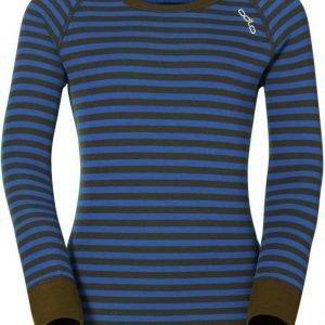 Odlo Kids Warm Shirt Sininen/vihreä 152