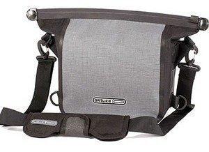 Ortlieb Aqua-Cam L harmaa / musta vedenpitävä kameralaukku