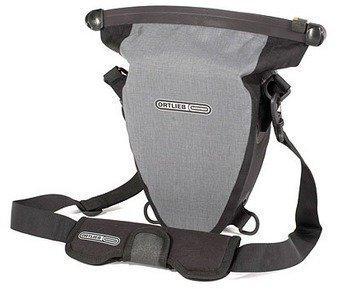Ortlieb Aqua-Zoom harmaa / musta vedenpitävä kameralaukku
