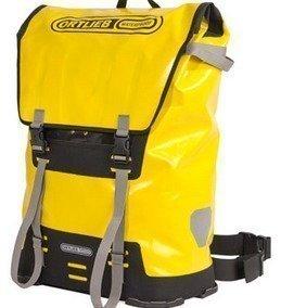 Ortlieb - Messenger Bag XL vedenpitävä reppu keltainen/musta