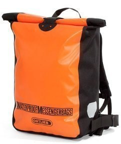 Ortlieb - Messenger Bag vedenpitävä reppu oranssi