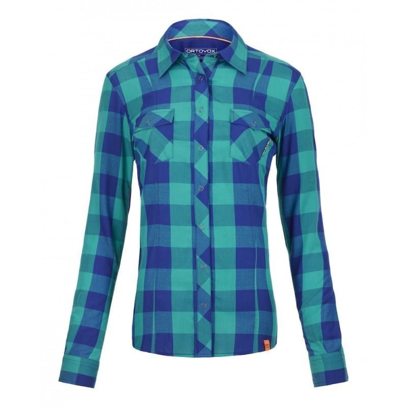 Ortovox RNW Cool Shirt LS Stretch Back S Strong Blue