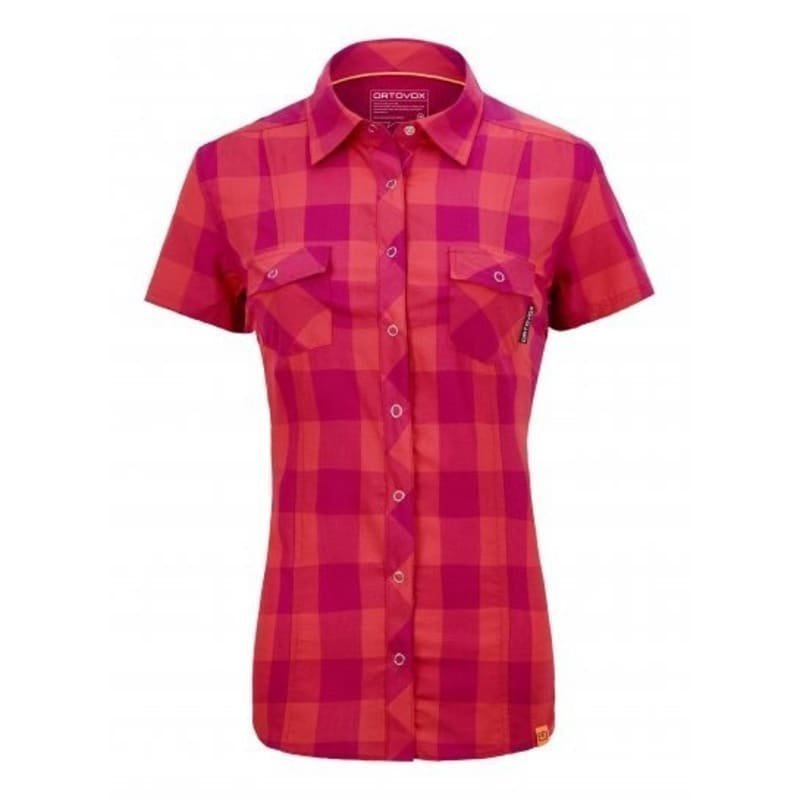 Ortovox RNW Cool Shirt SS Stretch Back S Hot Coral