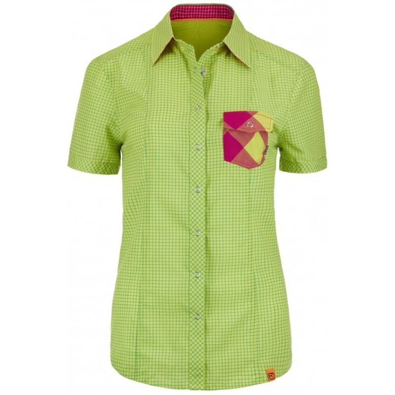 Ortovox Rock'n'Wool Cool Shirt Short S XS Happy Green