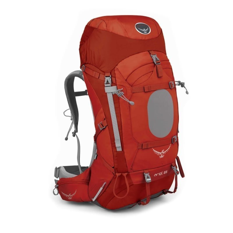 Osprey Ariel 65 MD Vermillion Red