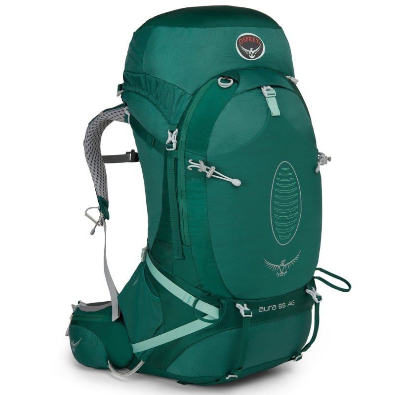 Osprey Aura AG 65 S Rainforest Green