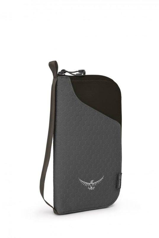 Osprey Document Zip Wallet Musta
