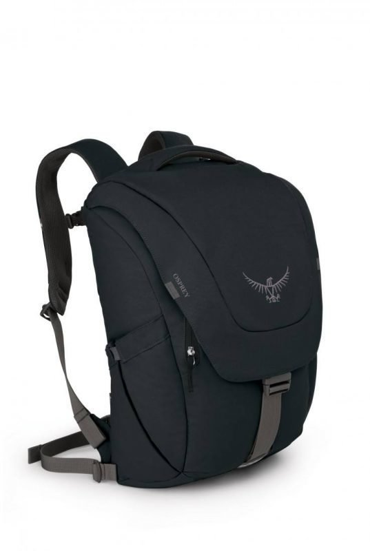 Osprey Flap Jack Pack Musta