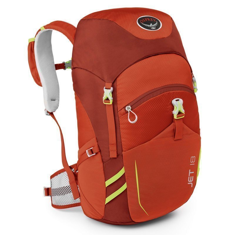 Osprey Jet 18 ONESIZE Strawberry Red