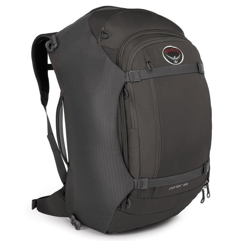 Osprey Porter 65 1SIZE Black
