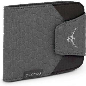 Osprey QuickLock Wallet Musta