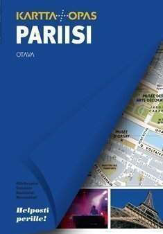 Otava Pariisi matkaopas + kartta